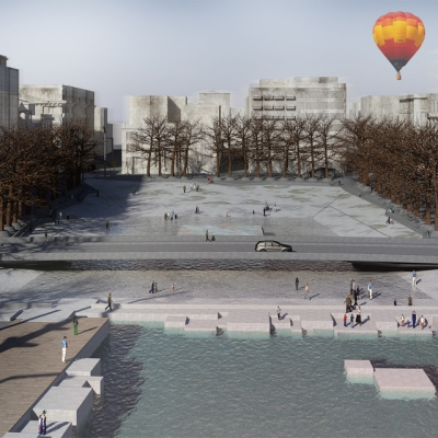 Redevelopment of Eleftheria Square in Thessaloniki