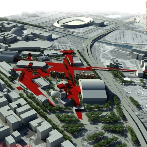 Redevelopment of the Expo Area in Cagliari
