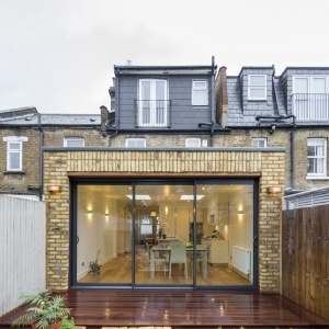 House Extension and Refurbishment in Wimbledon